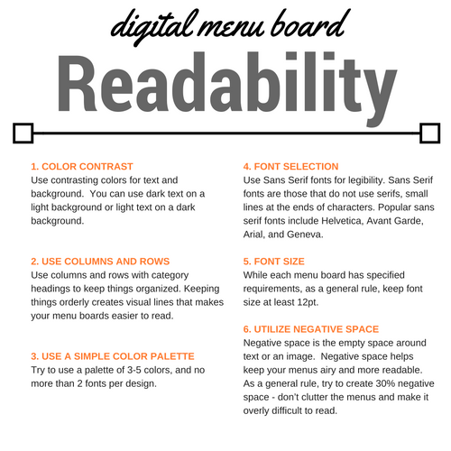 digital-menu-board-readability